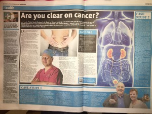 "Cambridge Urology Support the Be Clear on Cancer Campaign for ""Blood in the pee"""