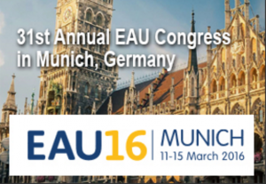 Oliver Wiseman presents his work at The European Association of Urology Meeting in Munich.